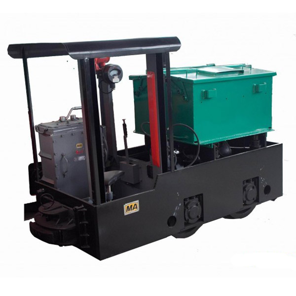 CTY2.5 / 6G 2.5t Explosion-proof Battery Powered Mine Electric Locomotive