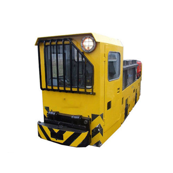 Mine Diesel Electric Locomotive with Safe Braking Control System