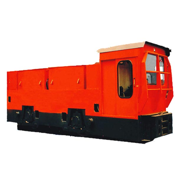 25T Battery Locomotive For Subway Tunneling Match With TBM