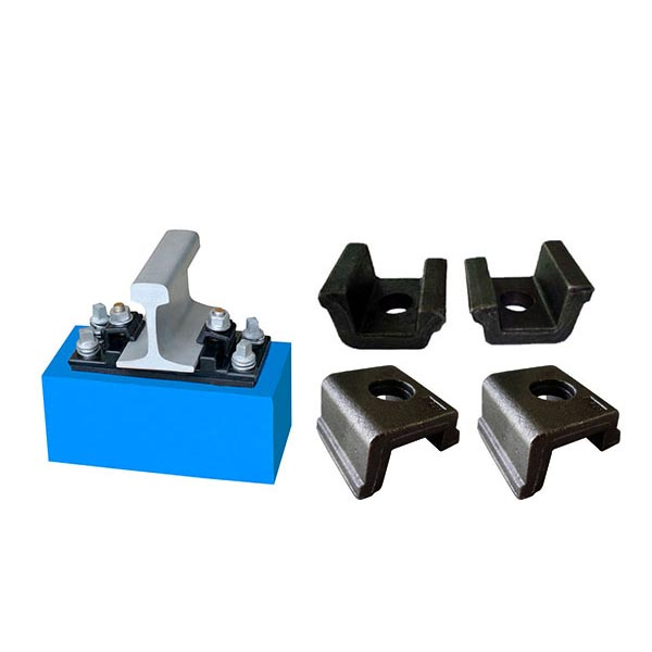 Railway Clamp KPO Colored or HDG for Rail Fastening