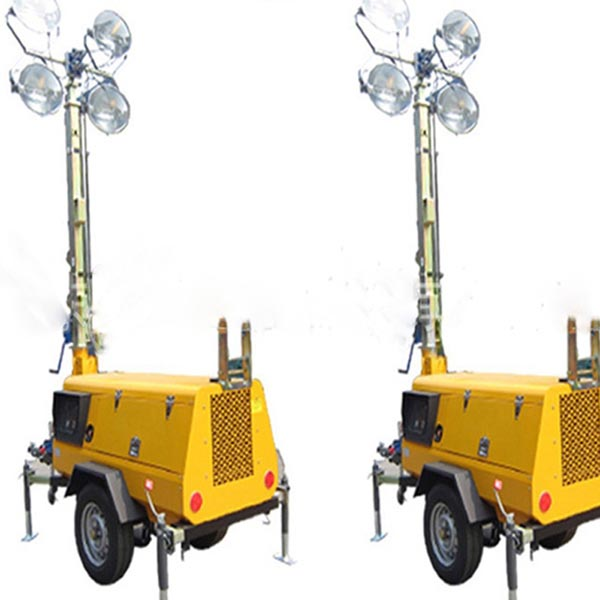 MO-5659 LED Automatic Trailer Mounted Mobile Lighting Towers