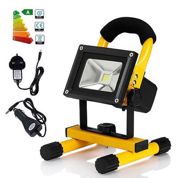 New 20W Rechargeable & Portable LED Outdoor Solar Flood Camping Light