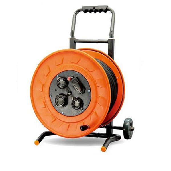 Flexible Waterproof Retractable Extension Power Cable Reel