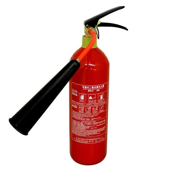 Portable 2kg Automatic CO2 Fire Extinguisher
