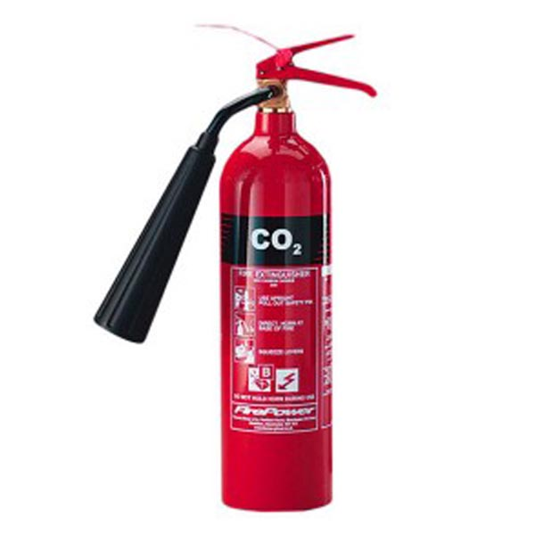 JC-C2 Alloy Steel Fire Safety 2kg CO2 Fire Extinguisher