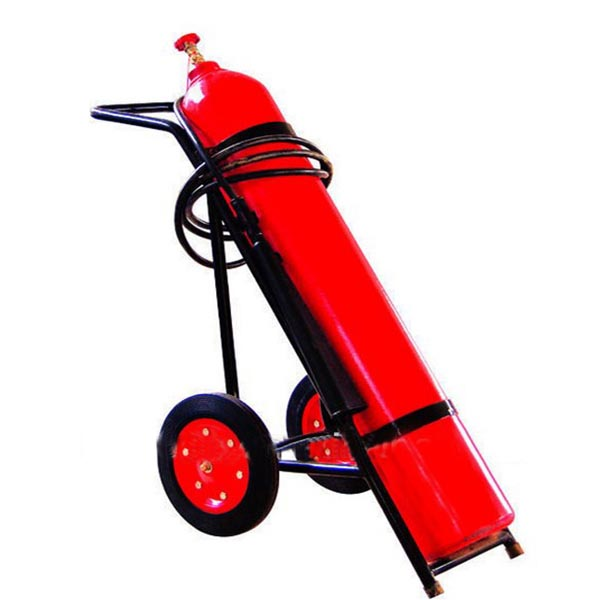 10kg Wheeled Carbon Dioxide Fire Safety Fire Extinguisher