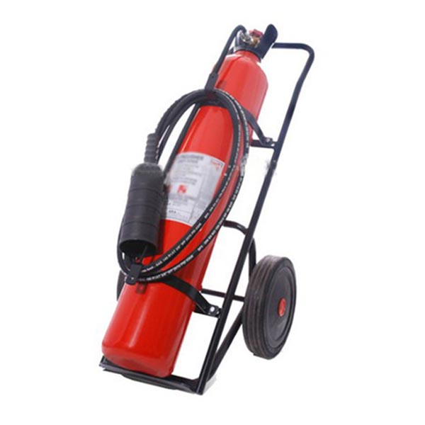 MS-FE-02 25kg CO2 Safety Trolley Fire Extinguisher