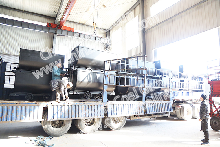 China Coal Group Sent Batch Of Fixed Mine Cars To Zhaotong, Yunnan