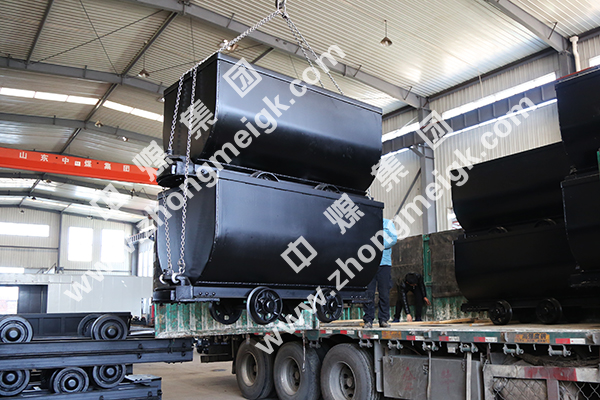 China Coal Group Sent A Batch Of Fixed Mining Car To Qinhuangdao City