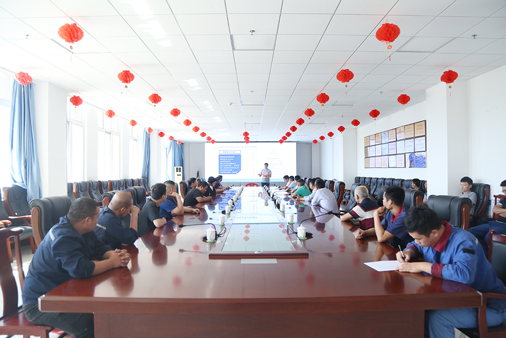 Warm Welcome Tai'An City Daiyue District Bureau Of Industry And Information Technology Leadership And Outstanding Entrepreneurs Visit China Coal Group